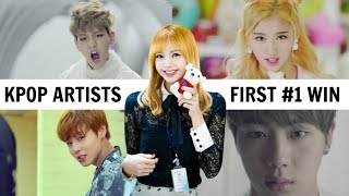 Download Lagu KPOP SONGS THAT GOT GROUPS THEIR FIRST WIN Gratis STAFABAND