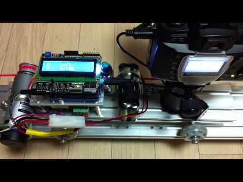 Motorized time lapse photography slider Electronics