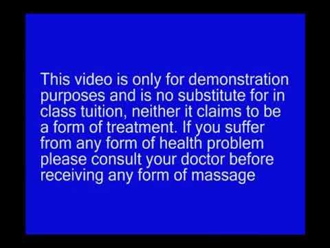 Leg massage: Inner Thigh