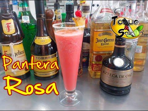 Coctel Pantera Rosa