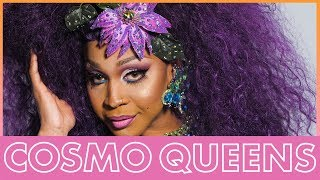 A'keria Chanel Davenport Is The Master of Colorful Eyeshadow | Cosmo Queens