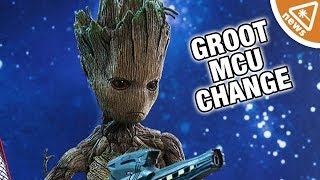 How Will Groot's New Change Affect the MCU? (Nerdist News w/ Jessica Chobot)