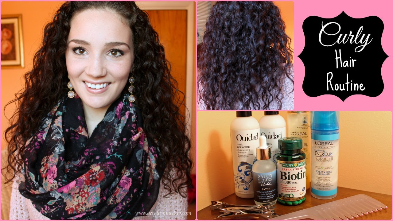 Journey To Healthy Thick Curly Hair Updated Hair Routine