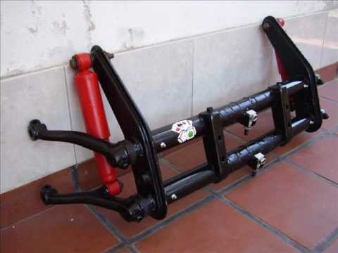 Suspension delantera combi vw