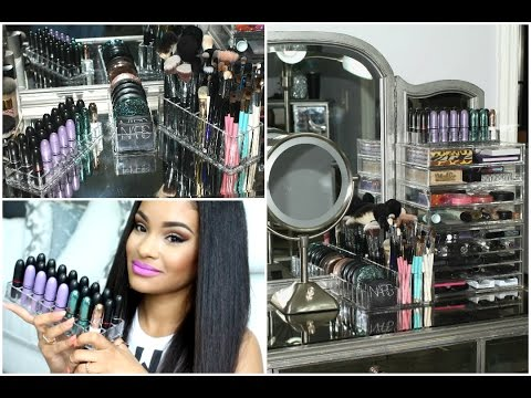 Makeup Organization + ByAlegory Makeup Organizers Review