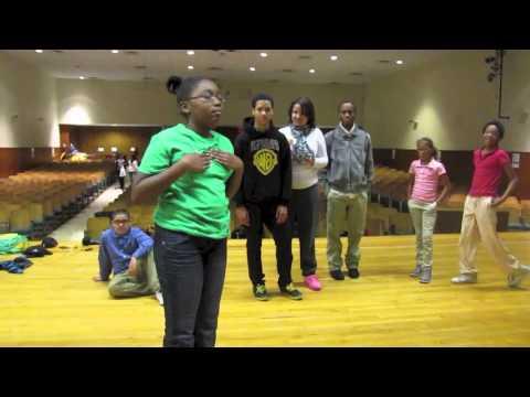 Harrisburg School Hip Hop Dance by Zulu Bratz ( Open Cypher)