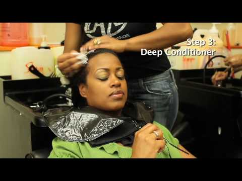 Dominican Hair Salon Wash and Set