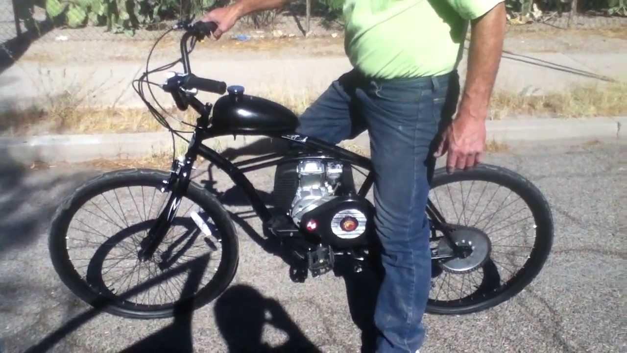 2ND GENERATION 4-STROKE MOTORIZED BICYCLE from UMOTOBIKES ...