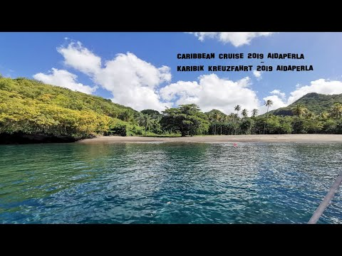 Karibik Kreuzfahrt 2019 4k (AIDA Perla) | Caribbean Cruise 2019 4k (AIDA Perla)