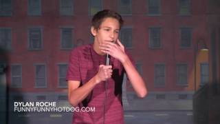 Dylan Roche   14 Year Old Stand Up Comedian
