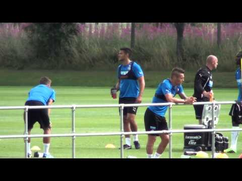Yohan Cabaye & Ben Arfa Training @ Darsley Park Newcastle United