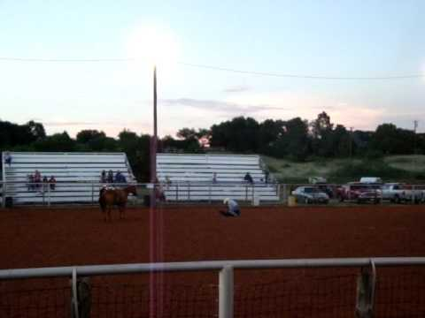 57th old settlers rodeo Plains Texas.