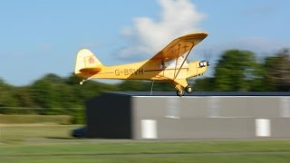 FMS J3 PIPER CUB 1400mm WITH KILLER PLANES CRASHPROOFING