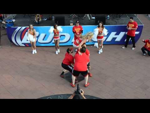 Houston Rockets Launch Crew 2013-14