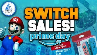 HUGE Switch Sales and Deals LIVE NOW For Amazon Prime Day 2019!