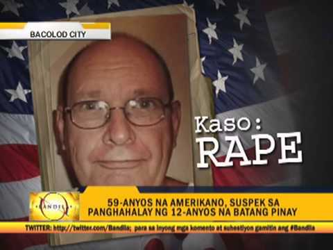 American accused of raping 12-year-old Pinay