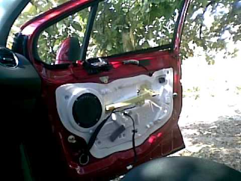 Peugeot 308 Door Panel Removal Cum Desfacem Un Panou Usa
