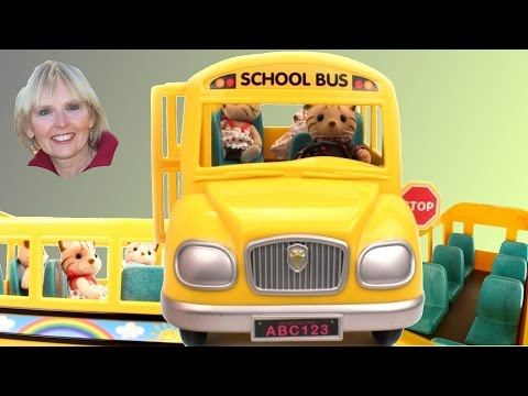 ♥♥ Calico Critters School Bus