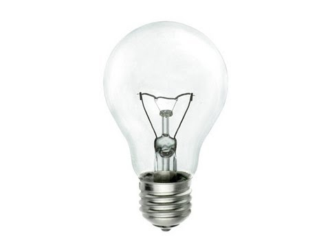 How does a fine woodworker change a lightbulb?