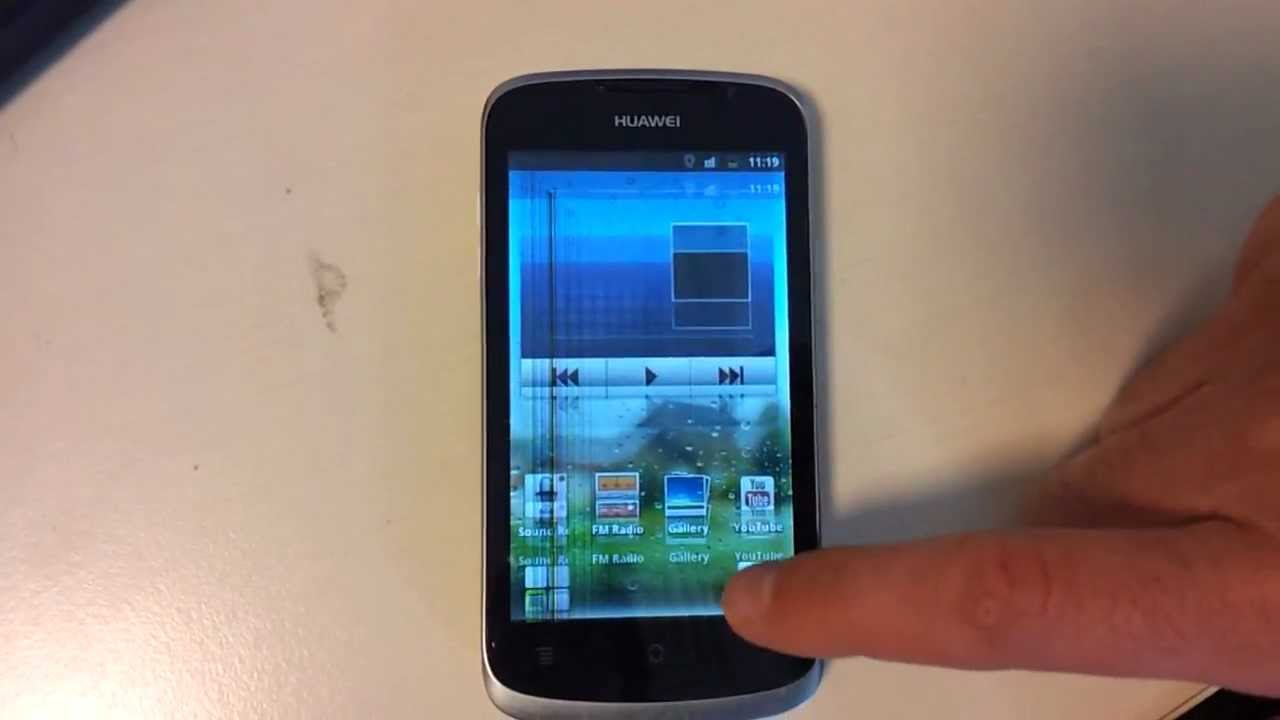 Huawei Ascend G300 Display Flickering Jumping Problem