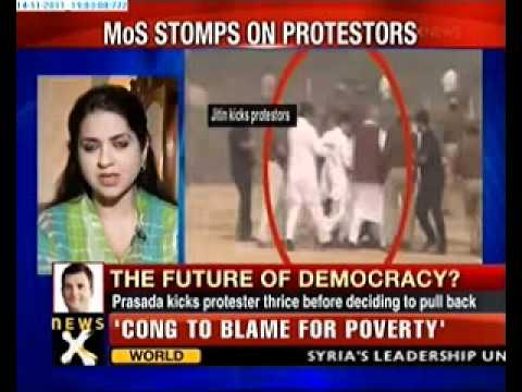 Speak Out India: Jitin Prasada stomps on protestors in UP