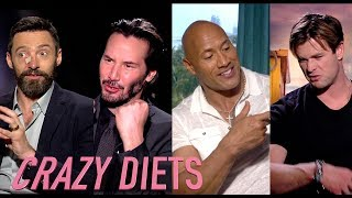 Celebrity Body Transformations ★ Insane Diets & Fitness plans ★ Pain and Gain (STARS REVEAL)