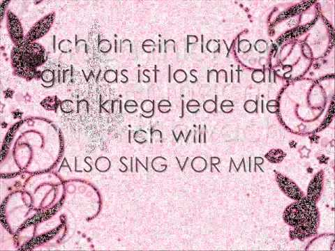 So ein Playboy + Lyric :D
