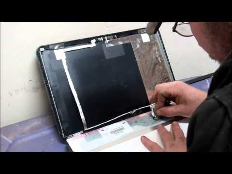 LCD Screen Replacement on a HP Pavilion g6 Laptop