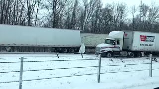 29-Car Pileup Closes Westbound I-94 In Southwest Michigan