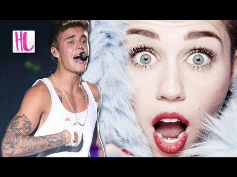 Miley Cyrus Mocks Justin Bieber Over Drug Use!?