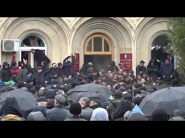 Новые протесты в Сухуми