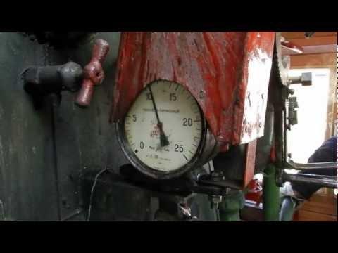 В будке паровоза Су251-86