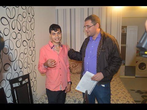 Ренато Усатый вручил ключи от квартиры незрячему парню!