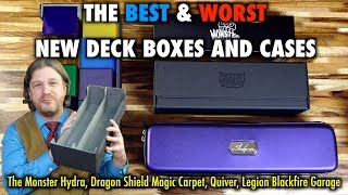 A Review Of The Dragon Shield Magic Carpet, Hydra, Quiver, Garage Deck Boxes for Magic The Gathering