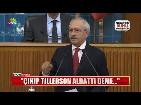 """Erdoğan: """"Çıkıp Tillerson aldattı deme..."""""""