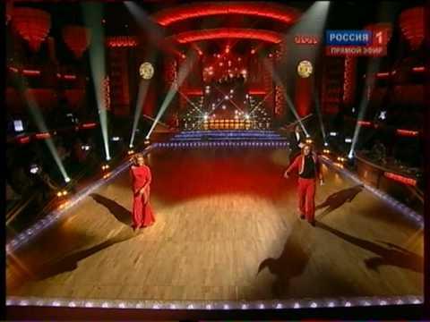 А. Стоцкая А.Леденев победители Танцы со звездами 2010