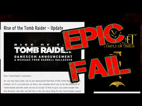 Tomb Raider 2 Xbox Exclusive - Angry Rant