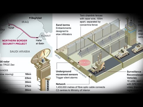 Saudi Arabia Building It's Own Great Wall To Repel ISIS