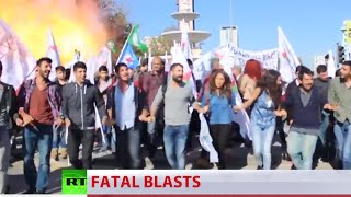 Dozens killed in Ankara blasts, suicide bombers behind attack