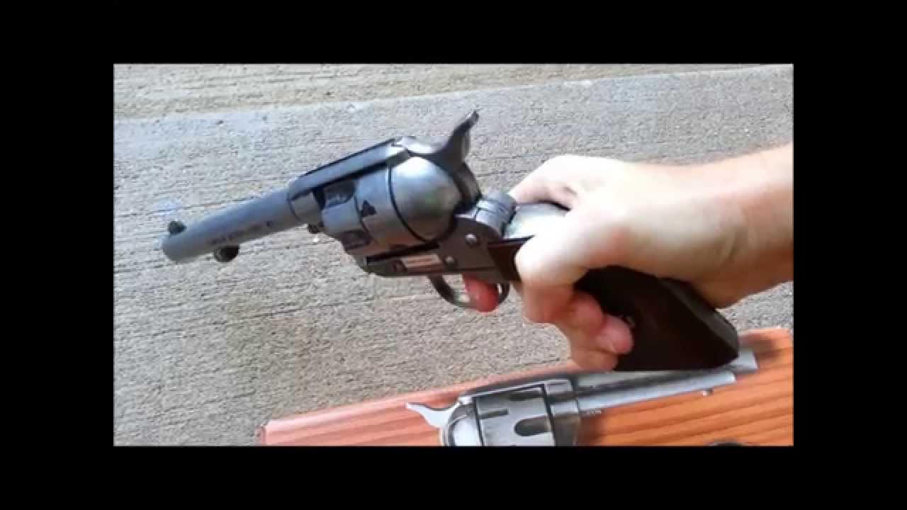 Western Revolver Gun Toy Pistols - Metal Cap Guns