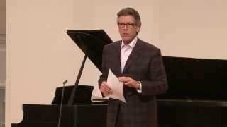 2015 Thomas Hampson Voice Masterclass: Q & A with Online Audience