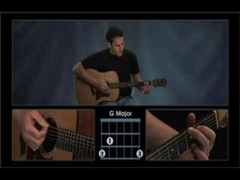Guitar Lesson #38 -G Major Chord Video