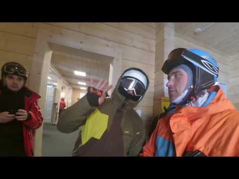 Snowboarding in Bigwood Сноубординг в Большом Вудъявре