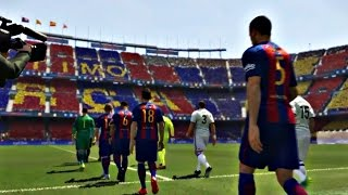 PES 2017 - Fc Barcelona Vs Real Madrid (Ps4 Gameplay - Superstar)