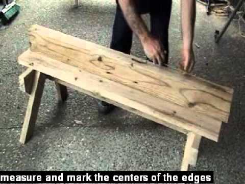 how to build a folding wargame table
