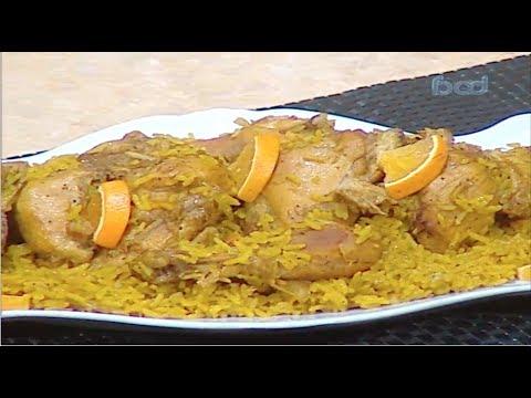 ارز الدجاج بالبرتقال الشيف #نونا من برنامج #البلدى_يوكل #فوود