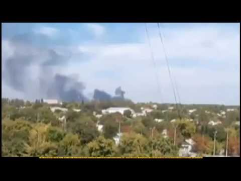 Ukraine Donetsk Airport Under Attack Attack-Kremlin,despite the cease-fire. Lugansk Mariupol.news