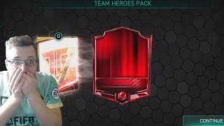 FIFA Mobile 18! OMG We Finally Pull a Team Hero! Weekly Heroes and Team Pack Opening!