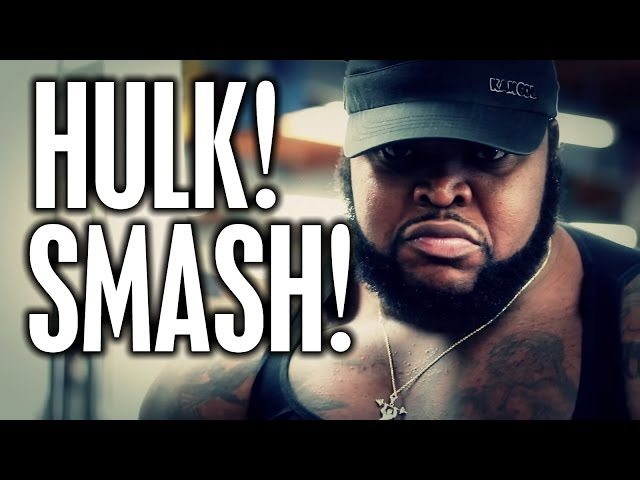 "CT FLETCHER INTRODUCES ""DA HULK"""