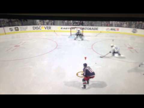 Гол Йоханесена. НХЛ15